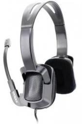 Headphone Gamer Fone com Microfone Satellite AE-337 Novo Lacrado