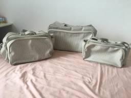 Conjunto de bolsa maternidade