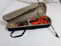 Violino Artesanal Cópia Stradivarius 4/4 + acessórios