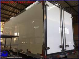 Carroceria furgão refrigerada Mathias Implementos baús para caminhões