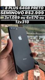 IPhone 8 Plus 64GB preto