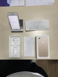 Iphone 7 32gb Gold *bem conservado, caixa e nota comprado nos eua