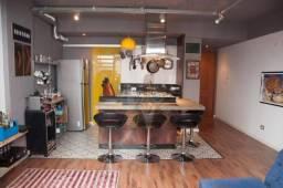 Apartamento duplex com 1 dormitório à venda, 78 m² por r$ 398.000,00 - cabral - curitiba/p