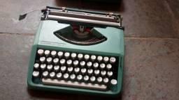 Máquina de escrever decoração
