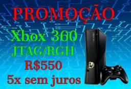 Xbox 360 4G Slim JTAG/RGH em 5x sem juros