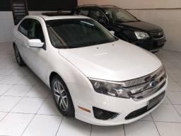 Ford Fusion Branco Pérola Top + Teto - 2012