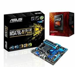 Kit AMD M5A78L-M/USB3 com FX6300