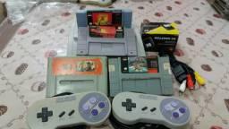 Kit super Nintendo baby + 4 fitas