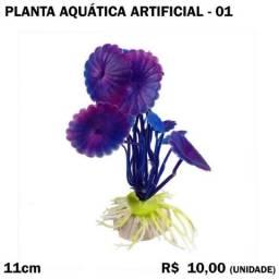 Título do anúncio: Planta Aquática Artificial Modelo 01