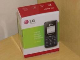 Celular LG dual sim radio fm antena rural o melhor simples novo na caixa