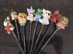 Ponteiras de lápis com biscuit em promoção