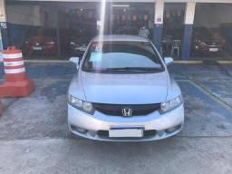 Honda civic lxs 1.8 aut. completo com gnv 2010