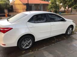 Corolla xei 2.0 branco pérola 2017