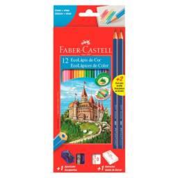 Lápis de cor Faber Castell c/12 cores