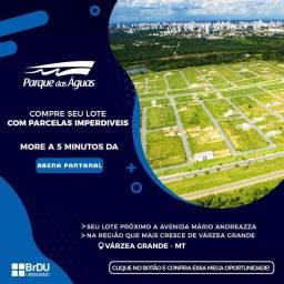 Loteamento Parque das Águas em Várzea Grande sem consulta Spc nem Serasa