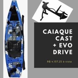 Caiaque Cast + Evo Drive para o dia 20/11