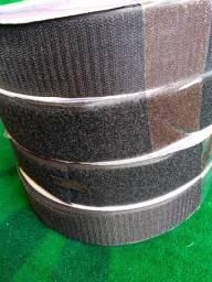 Fecho de contato Velcro preto