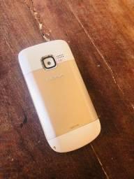 Nokia C3 C3-00 Dourado<br><br>