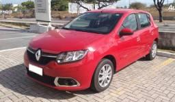 Renault Sandero 1.0 Expression, 2014/2015, Completo, Vermelho, 103.000km
