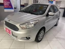 Ford KA + 2018 - Prata - 1.5 SE 16V Flex - Manual - Sedan