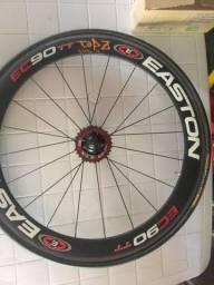 Rodas Easton EC90 TT tubular com pneus