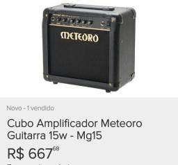 Amp novo na caixa
