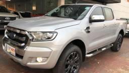 Ranger xlt 2018 diesel automática placa a periciada na garantia de fábrica