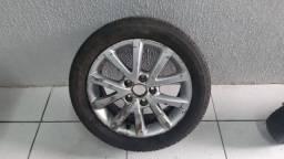 Roda avulsa VW Jetta aro 16 com pneu Firestone