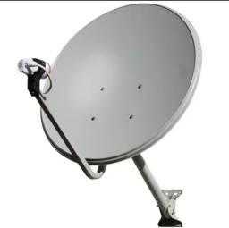 Instalação de Receptores de Tv e Apontamento de Antenas