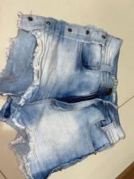 Shorts Jeans tamanho 36 - usado