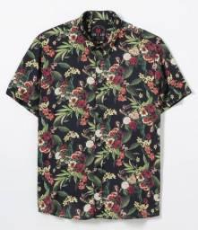 Camisa floral de luxo