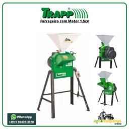 Frete Grátis - Forrageiro Picador Triturador Trapp TRF-50 com Motor 1,5cv Monofásico