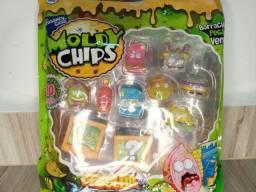 Brinquedo miniatura moldy chips