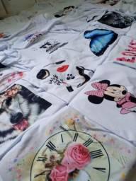 Vendo um lote de t-shirt peça variada croopt e Camisao