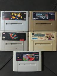 Fitas de Super Nintendo Snes
