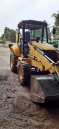Retro escavadeira new holland lb90 2011 4x4