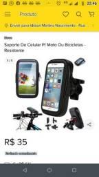 Suporte de celular,para bicicleta e motos, resistênte