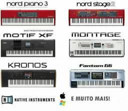 1TB - Nord, Motif, Worship, Synthage, Ultimate Stage Pianos HD