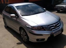 Honda City EX - Abaixo da tabela - Completo + Couro + GNV - Impecável!