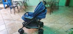 Carrinho, bebê conforto e base isofix Peg Perego*