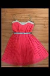 Vestido de Pregas + Brinde - Entrego