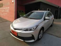 Toyota corolla GLI upper 2018 carro espetacular automático