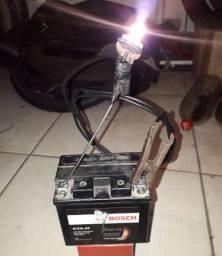 Bateria 5 anperes pra moto a pedal