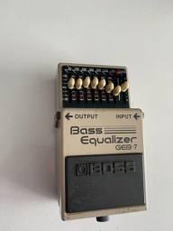 Pedal Bass equaizer boss GEB-7