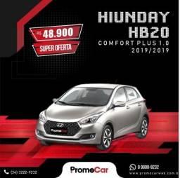 Hyundai HB20 Comfort Plus 1.0 Prata