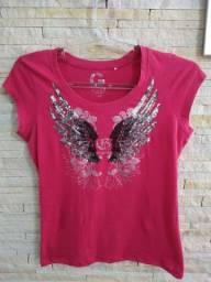 Camiseta feminina Guess bom