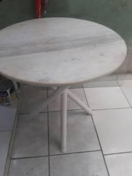 Mesa de mármore 80 cm.