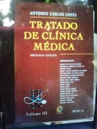Livro usado Tratado de Clínica Médica segunda edição Volumes l ll lll