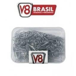 Grampo para Soldador de Para-Choques 100 Peças V8 Brasil