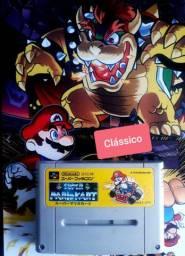 Clássico Super Mario kart. Jogo para Colecionador .Veja
